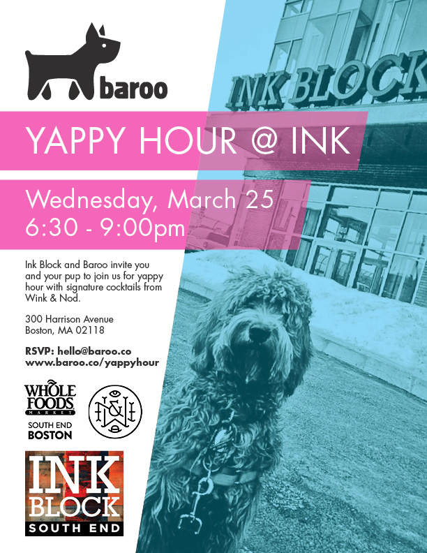 Party with Your Puppy at Ink Block's Yappy Hour | KP Strategies